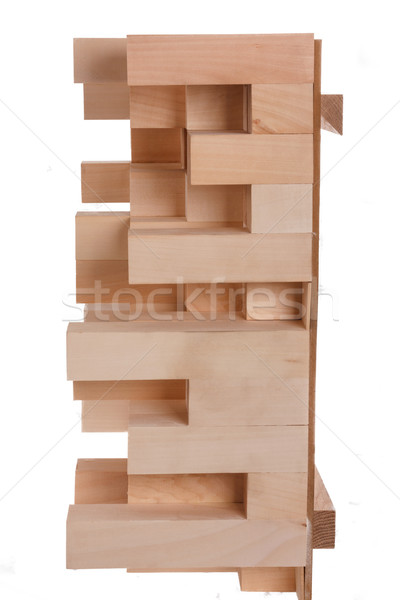 cross section of skyline wooden music diffusor Stock photo © feelphotoart