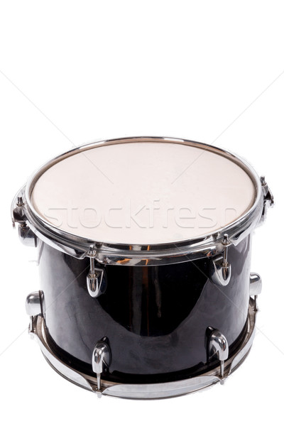 黒 音楽 低音 ドラム 白 ストックフォト © feelphotoart