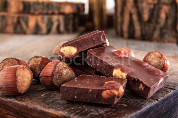 Сток-фото: шоколадом · частей