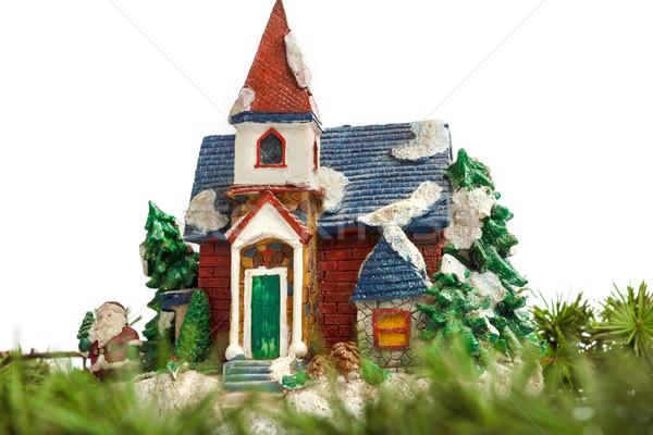 декоративный дома орнамент соснового ель Сток-фото © feelphotoart