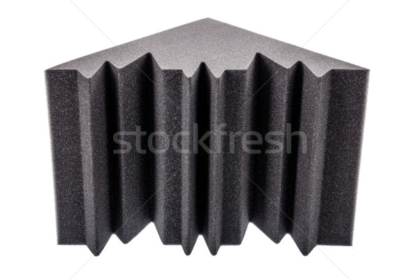 microfiber foam insulation for noise in the corners of the music Stock photo © feelphotoart