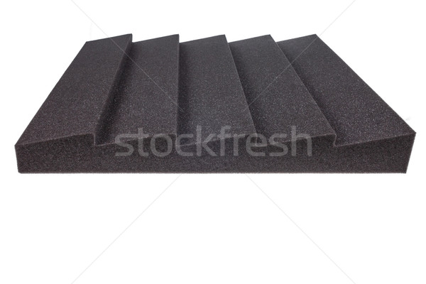 noise isolating protective and shock absorber foam Stock photo © feelphotoart