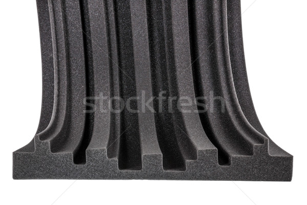 cross section of microfiber foam wall Stock photo © feelphotoart