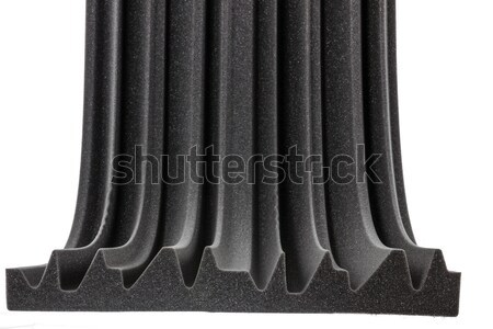 cross section of professional studio insulation material wall Stock photo © feelphotoart