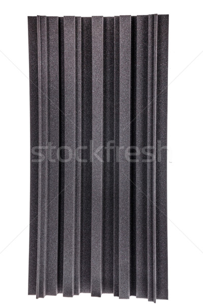 noise isolating protective and shock absorber foam wall Stock photo © feelphotoart