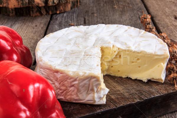 идеальный сыра Vintage стиль Сток-фото © feelphotoart