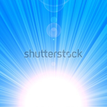 Blue Sky Thinking Background Stock photo © fenton