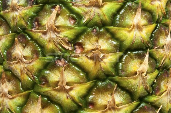 Ananász részlet friss magas döntés fotó Stock fotó © FER737NG