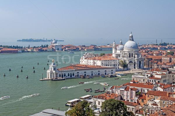 Velence Olaszország bazilika szent ház épület Stock fotó © FER737NG