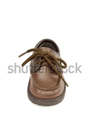 Jongen schoen hoog foto jongens Stockfoto © FER737NG