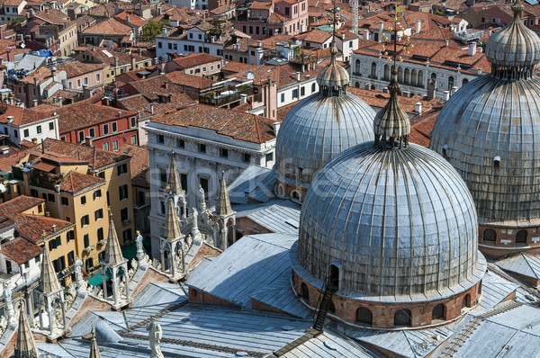 Basiliek Venetië kathedraal Italië Stockfoto © FER737NG