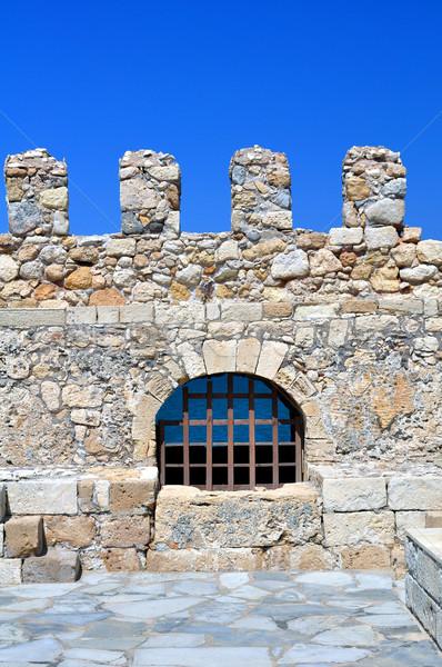 要塞 ベニスの 城 ギリシャ 旅行 ヨーロッパ ストックフォト © FER737NG