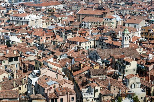 Velence Olaszország magasról fotózva kilátás ház épület Stock fotó © FER737NG