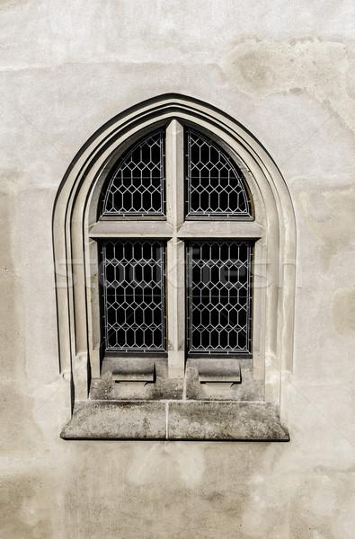 Gothic window. Stock photo © FER737NG