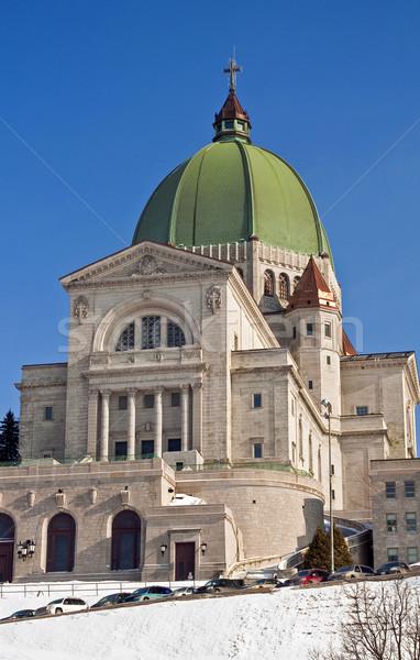 Stockfoto: Montreal · Canada · kruis · kerk