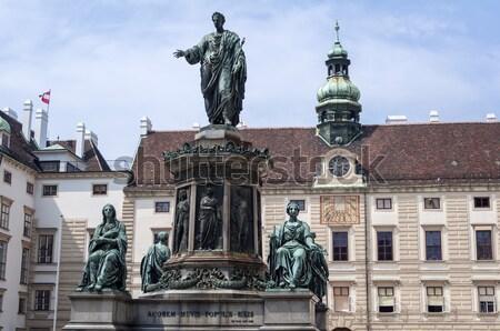 Empereur statue romaine Vienne Autriche Photo stock © FER737NG