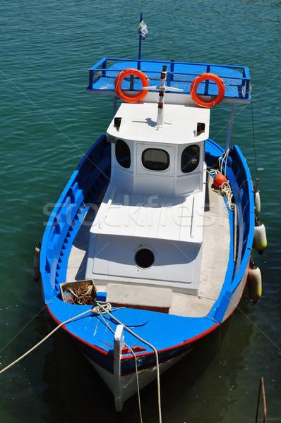 漁船 旅行 写真 ポート ストックフォト © FER737NG