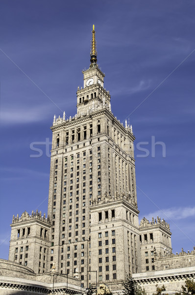 Palace of Culture and Science. Stock photo © FER737NG