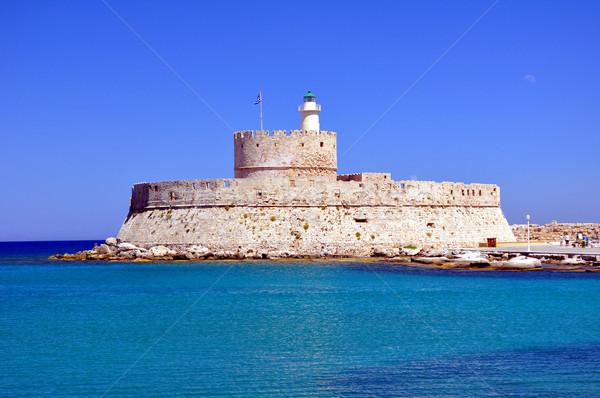 Fort Saint Nicholas, Rhodes, Greece. Stock photo © FER737NG