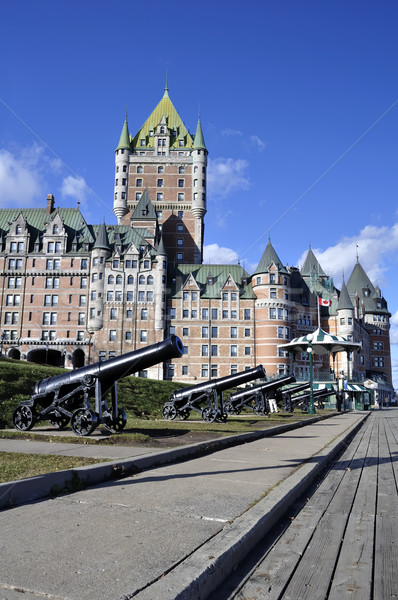 Chateau Frontenac. Stock photo © FER737NG