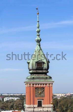 Kale kule kraliyet Varşova Polonya Stok fotoğraf © FER737NG
