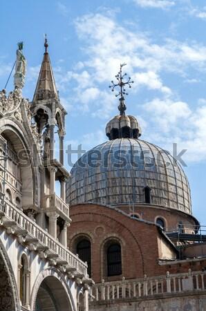 Bazilika katedrális szent osztályzat Velence Olaszország Stock fotó © FER737NG