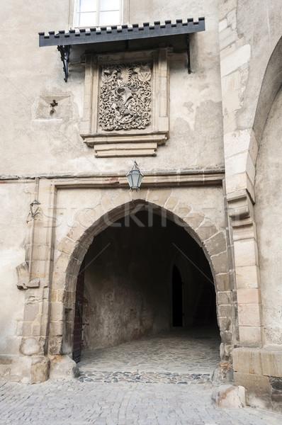 Castle door. Stock photo © FER737NG