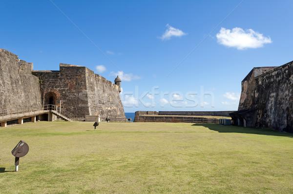 Castillo de San Cristobal. Stock photo © FER737NG