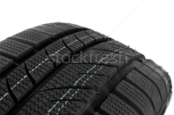 Winter tire close up. Stock photo © FER737NG