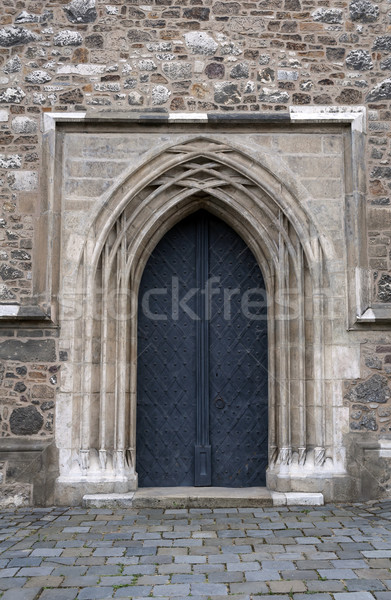 Medieval door. Stock photo © FER737NG