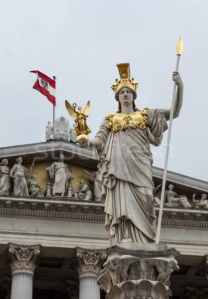 Pallas Athena, Austrian Parliament building. Stock photo © FER737NG