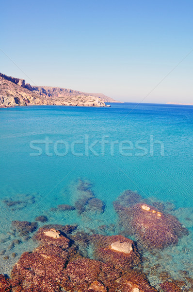 Fantastic view of the east coast of Crete. Stock photo © FER737NG