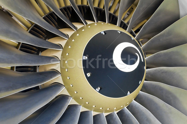 Jet engine detail. Stock photo © FER737NG