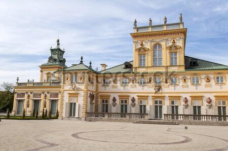 宮殿 ワルシャワ ポーランド 表示 ロイヤル 城 ストックフォト © FER737NG