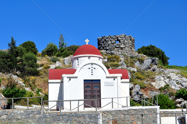 Greek chapel. Stock photo © FER737NG