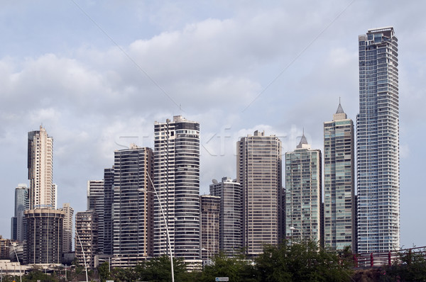 Panama kantoor gebouw skyline corporate Stockfoto © FER737NG