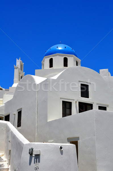 Chapel in Santorini Island. Stock photo © FER737NG