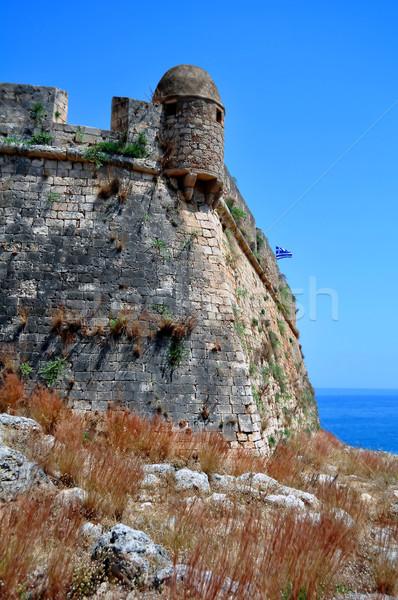 Velencei erőd utazás fotózás középkori fal Stock fotó © FER737NG