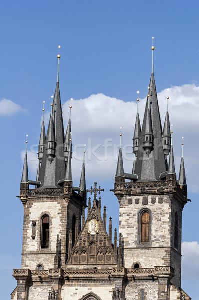 Templom hölgy anya Isten Prága Csehország Stock fotó © FER737NG