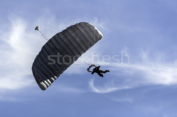 Parachute jumper. Stock photo © FER737NG