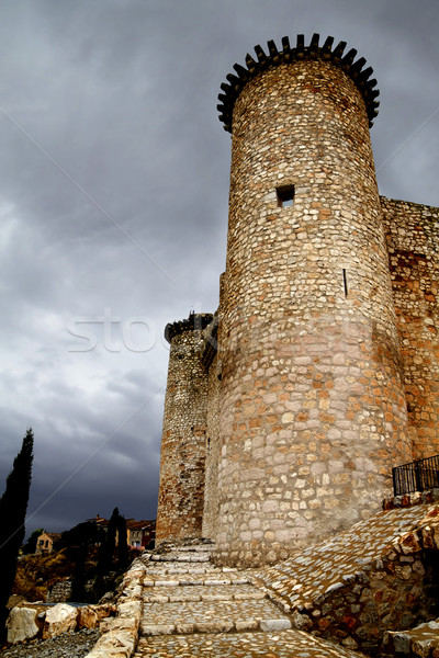 Castle in Spain, medieval building. Stock photo © Fernando_Cortes