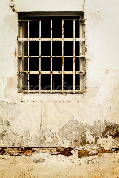 Prison comme vieux fenêtre village Photo stock © Fernando_Cortes