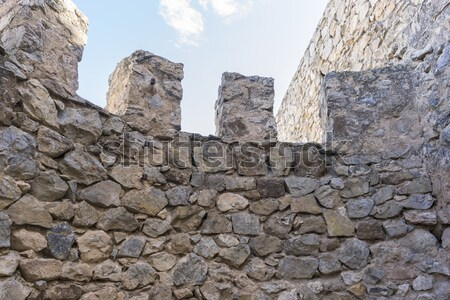 Fortification, medieval castle town of Consuegra in Toledo, Spai Stock photo © Fernando_Cortes