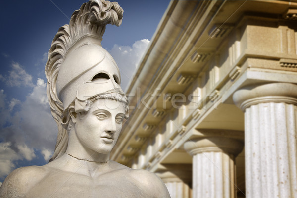 Bust of the greek statesman Pericles Stock photo © Fernando_Cortes