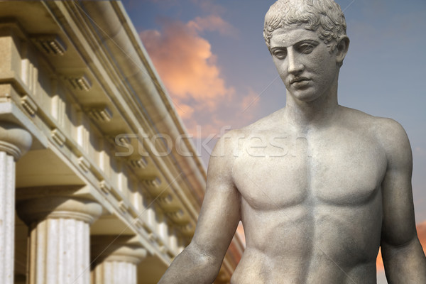 Greek Sculpture  Stock photo © Fernando_Cortes