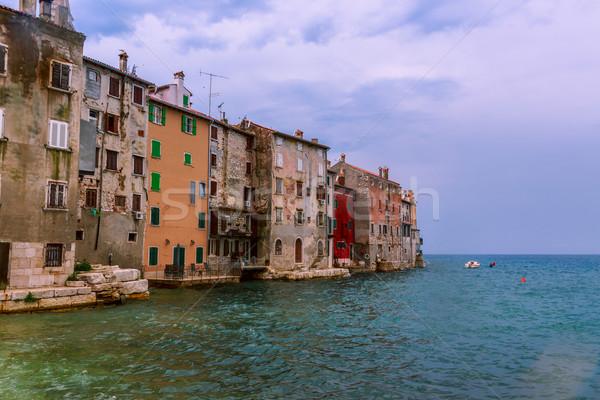 旧市街 海 海岸 クロアチア ヨーロッパ 水 ストックフォト © Fesus