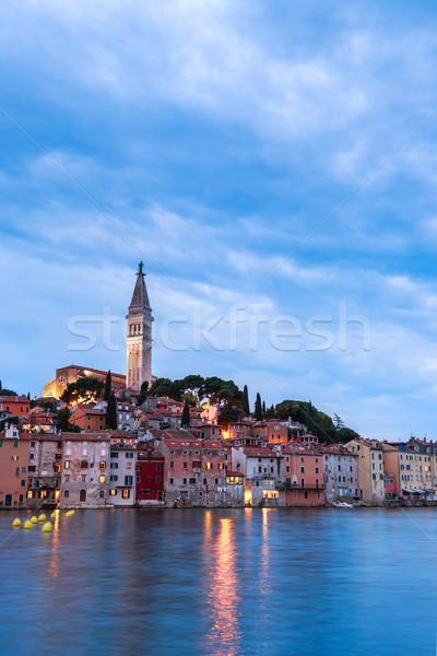 Wonderful romantic old town of Rovinj Stock photo © Fesus