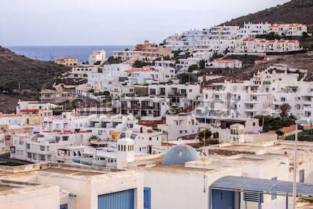 íntimo mediterrânico beira-mar cidade naturalismo parque Foto stock © Fesus