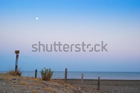 End of day  from beach.Greece, Zakynthos Stock photo © Fesus