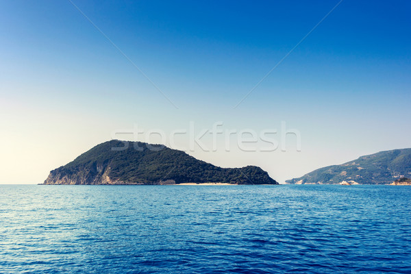 美しい 海 風景 ザキントス 島 ギリシャ ストックフォト © Fesus